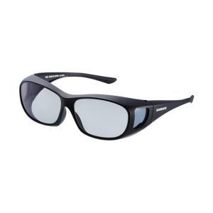 シマノ UJ-201S シマノオーバーグラス グレーxブラック / 偏光グラス サングラス メガネの上から|yfto