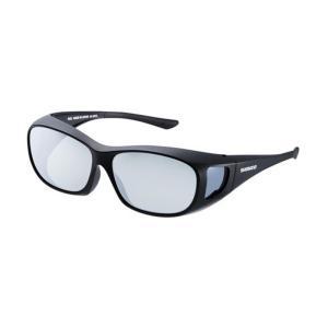 シマノ UJ-201S シマノオーバーグラス グレーミラーxブラック / 偏光グラス サングラス メガネの上から|yfto