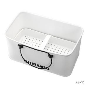 シマノ クーラー用バッカン スノコ付 ホワイト S yfto