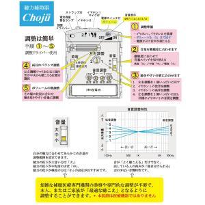 調整機能の充実した集音器 Choju 両耳 片耳 イヤホン ハウリング軽減マイクユニット 単4アルカリ電池 節電タイマー内臓|ygc-japan|05