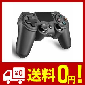 PS4 ワイヤレス コントローラー 無線 FPS イヤフォン 使用可 Bluetooth接続 6軸 振動 高耐久ボタン 日本取扱説明書付き AnvFl|yggdrasilltec
