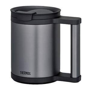 ■オフィスで、自宅で。保温、保冷に優れたマグカップ! ステンレス魔法びん構造なので、結露せず、温かい...