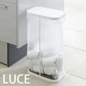 ■見た目も使うときもスタイリッシュ 普通のゴミ箱のような容器=箱がなく、フレームにポリ袋を掛けて蓋を...