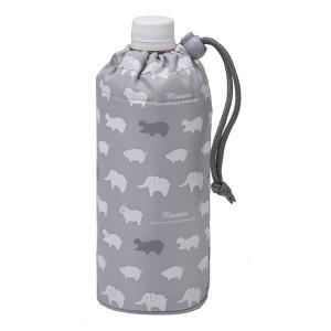 ペットボトル カバー アニマル(GY)