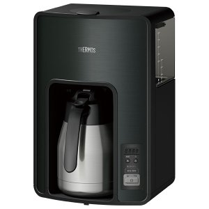 サーモス 真空断熱ポット コーヒーメーカー ECH-1001 ブラック(BK) yh-beans