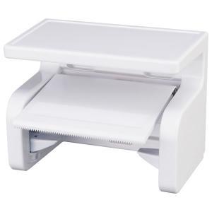 ■棚付で便利! ペーパー取り付けワンタッチで便利な棚付きのトイレットペーパーホルダー。 ■便利な棚 ...