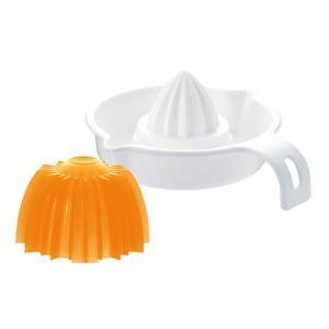■ムダなく絞れます! グレープフルーツとレモンが絞れるスクイーザー。 手軽に新鮮な絞りたて果汁を。