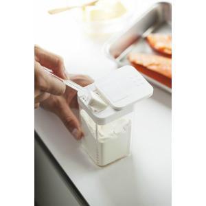 山崎実業 調味料入れ アクア 小麦粉&スパイスボトル まとめ買い4個セット ホワイト|yh-beans|05