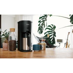 サーモス 真空断熱ポット コーヒーメーカー 630ml ブラック(BK) ECJ-700 yh-beans 03