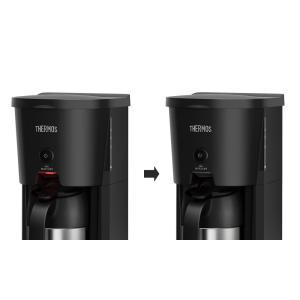 サーモス 真空断熱ポット コーヒーメーカー 630ml ブラック(BK) ECJ-700 yh-beans 05