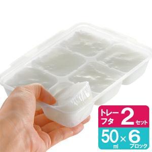 リッチェル 離乳食 冷凍保存 容器 わけわけフリージング ブロックトレーR 50