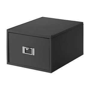 DVDケース Like-it DVDファイルボックス グレー LM-40
