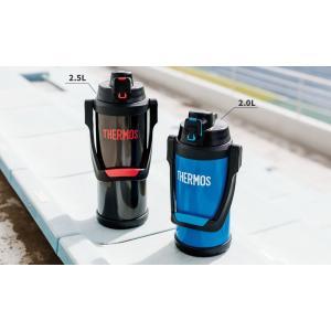 サーモス 水筒 真空断熱スポーツジャグ 2L ブラックグレー(BKGY) FFV-2000|yh-beans|06