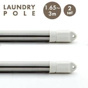 2本セット伸縮物干し竿3m 1.65〜3m 2SET-SAE-3M 物干し ものほし もの干し 竿 洗濯ポール 洗濯 3M セット 即日出荷 送料無料 代引不可|yh-life-inc