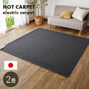 ホットカーペット 2畳 本体 175x175cm 電気カーペット カーペット 2帖 送料無料
