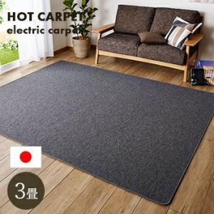 ホットカーペット 3畳 本体 195x235cm 電気カーペット カーペット 3帖 送料無料|yh-life-inc