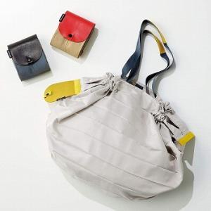 レザーシュパット コンパクトバッグL  エコバッグ ショッピングバッグ レジバッグ 買物袋 マーナ 送料無料 LF631B10b000 yh-life-inc