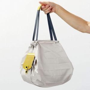 レザーシュパット コンパクトバッグM  エコバッグ ショッピングバッグ レジバッグ 買物袋 マーナ 送料無料 LF631B10b000 yh-life-inc