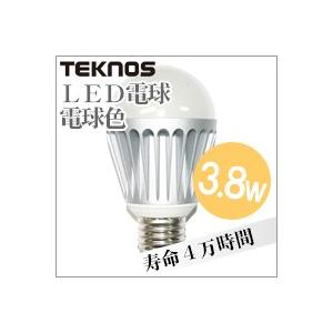 LED電球3.8w電球色 LE-38Y25【LED・電球・電球型・電球3.8W】4955014036698 yh-life-inc