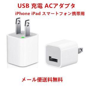 USB 充電 ACアダプタ(ホワイト)