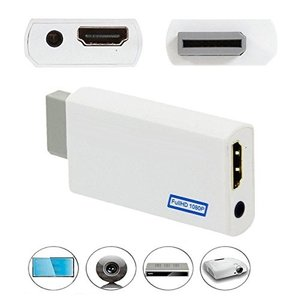 【送料無料】Wii HDMIコンバーター Wiiシグナルを720p 1080pに変換 HDMI変換アダプタ全てのWiiディスプレイモード対応