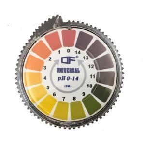 【商品名】  pH試験紙 pH1-14(ロールタイプ)1巻  繊維/染色/紙/パルプ/化学/石油精製...