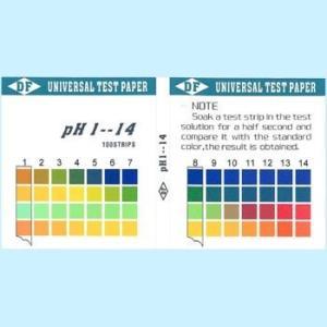 スティックタイプのpH試験紙です。 pH測定領域:1.0~14.0 ケース材質:プラスチック サイズ...