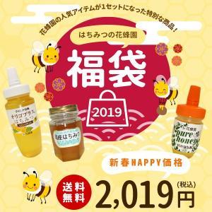 福袋2019 蜂蜜 送料無料 特別価格 オリゴプラスはちみつ 国産百花蜜(栗) ハンガリー産アカシア蜜