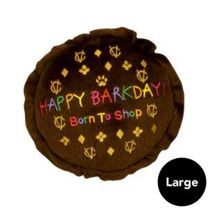 Dog Diggin Designs(ドッグディギンデザインズ)Chewy Vuiton Happy Birthday Cake Lg ykozakka