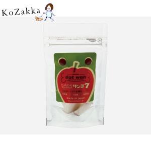 ドットわん フリーズドライリンゴ7 (8g) りんご 犬 おやつ トッピング|ykozakka