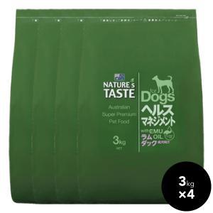 NATURE'S TASTE(ネイチャーズテイスト ) ラム&ダック 12kg(3kg×4)送料無料|ykozakka