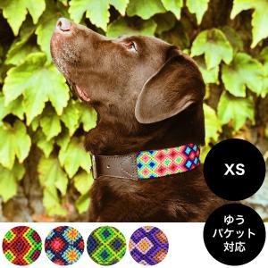 AMOR(アモル)マヤ織りハンドメイド首輪 XSサイズ ゆうパケット対応(何個でも)|ykozakka