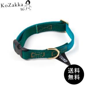 FOUND MY ANIMAL ファウンドマイアニマル 首輪 フラッグ カラー コットン 猫用 インポート 輸入 COTTON CAT & DOG COLLAR 送料無料|ykozakka