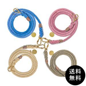 FOUND MY ANIMAL(ファウンドマイアニマル) ROPE DOG LEASH, ADJUSTABLE 送料無料|ykozakka