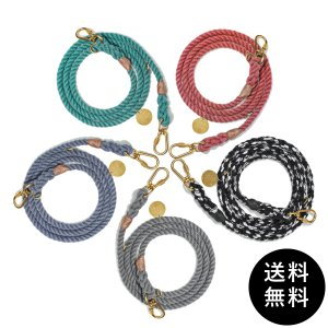 FOUND MY ANIMAL(ファウンドマイアニマル) UP-CYCLED ROPE LEASH, ADJUSTABLE 送料無料|ykozakka