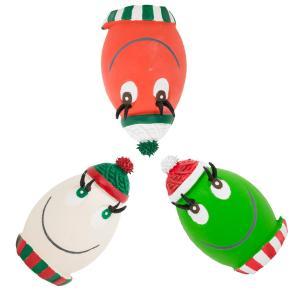 限定 クリスマス ランコ LANCO ウィンター・タマゴ タマゴちゃん たまごちゃん 犬 ラテックス おもちゃ xmas|ykozakka