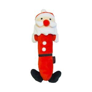 ロングサンタ 笛入り ぬいぐるみ 犬 おもちゃ クリスマス|ykozakka