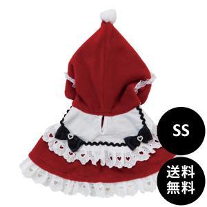 30%OFF Lulu doll(ルルドール) 赤ずきんケープ SS ねこ ネコ コスプレ コスチューム x'mas クリスマス サンタクロース ハロウィン|ykozakka