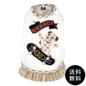 LunaBlue(ルナブルー)GRRRCI DOG SKATEBOARD DRESS グルルッチスケートボードドレス XS, S, M, L, XLサイズ ゆうパケット送料無料 ykozakka
