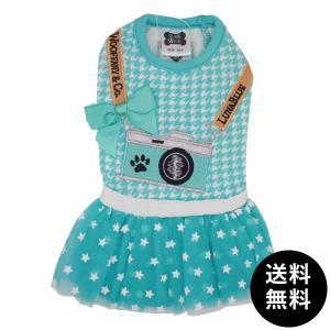 LunaBlue(ルナブルー)WOOFFANY&Co. CAMERA DRESS XXS, XS, S, Mサイズ ゆうパケット送料無料|ykozakka