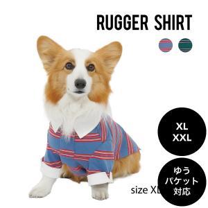 Mandarine brothers(マンダリンブラザーズ)RUGGER SHIRT ラガーシャツ XL ,XXLサイズ ゆうパケット対応(1個まで) ykozakka