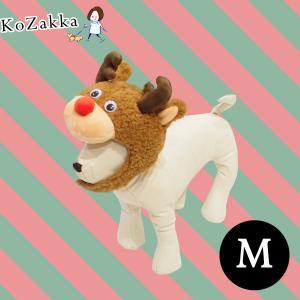 犬 猫 ペット クリスマス x'mas 帽子 トナカイくんキャップ M ねこ ネコ 仮装 コスプレ コスチューム 小型犬 中型犬 大型犬|ykozakka