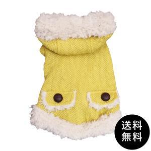 犬 ジャケット コート トワエモア toietmoi あったかいふんわりモコモコニット ダッフルジャケット ダッフルコート ニット 服|ykozakka