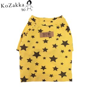 犬 Tシャツ Toi Et Moi トワエモア ラグランスター 猫 ペット 服 短め丈|ykozakka
