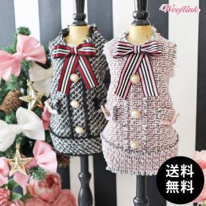 SALE20%OFF WOOFLINK(ウーフリンク)TWEED DRESS 2, 3号 ゆうパケット送料無料|ykozakka