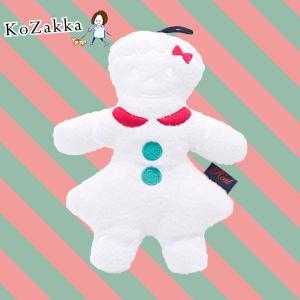 犬 おもちゃクリスマス xmas ジンジャークッキー ぬいぐるみ 笛入り|ykozakka