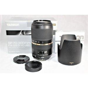 TAMRON 望遠ズームレンズ SP 70-300mm F4-5.6 Di VC USD ニコン用 ...