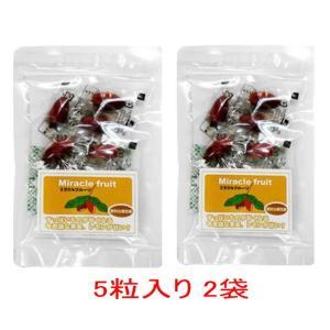 ミラクルフルーツ(5粒入り×2袋)