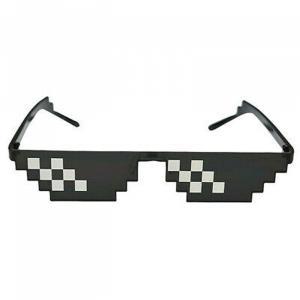 おもしろサングラス/ドットサングラス パーティーグッズ モザイクサングラス 変装 メガネ(定形外郵便、代引不可、送料別商品) yleciel