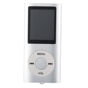 MP3プレーヤー スリムタイプ 《シルバー》 本体のみ AMV動画対応 録音 FMラジオ デジタルオーディオプレーヤー(定形外郵便、代引不可、送料別商品)|yleciel